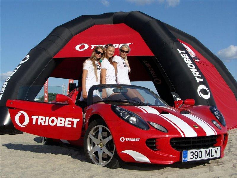 Триобет - рекламная компания