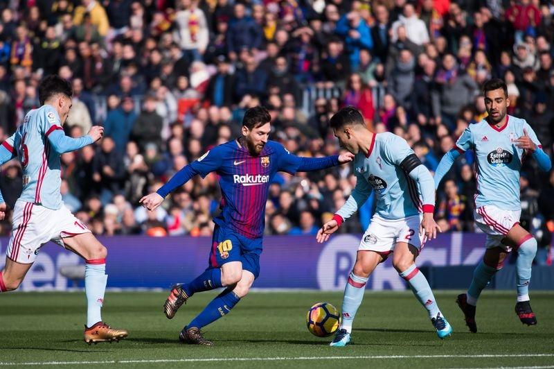 Лео Месси Барселона vs Сельта