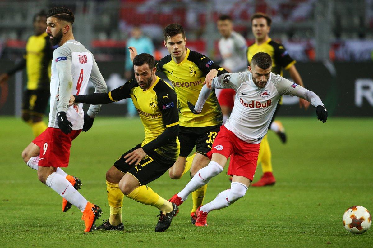 Прогноз на матч Боруссия Дортмунд - Ред Булл Зальцбург 08 марта 2018
