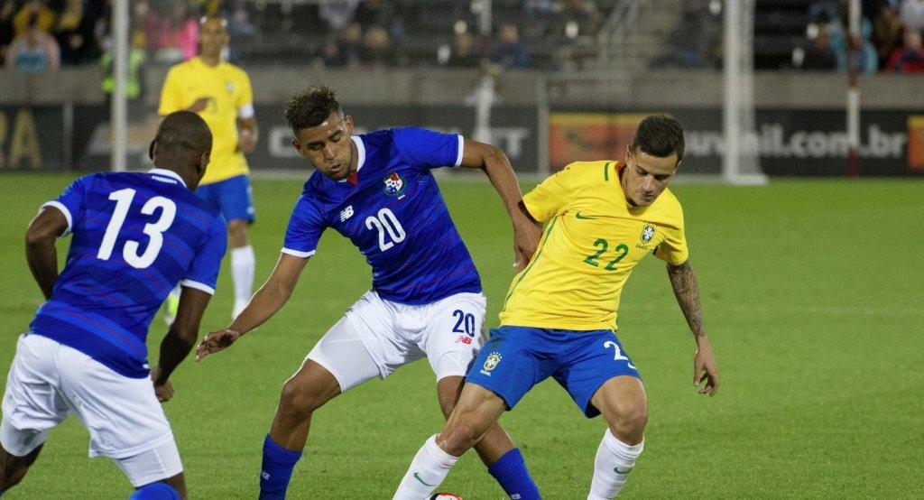 Футболисты сборной Панамы vs Коутиньо