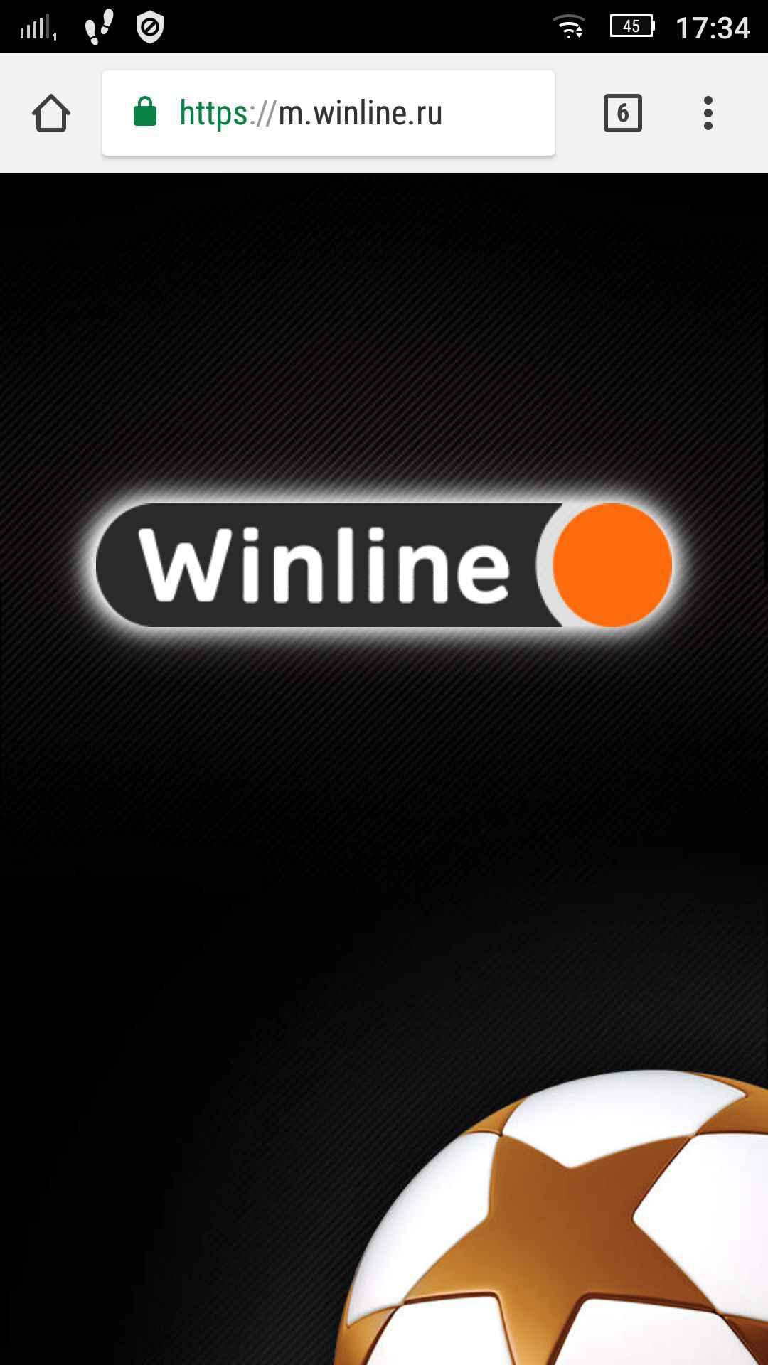 winline адаптированный сайт