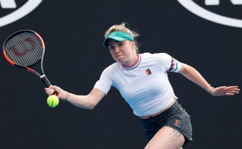 Элина Свитолина на Открытом чемпионате Австралии по теннису 2019