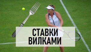 Стратегия вилок на теннис