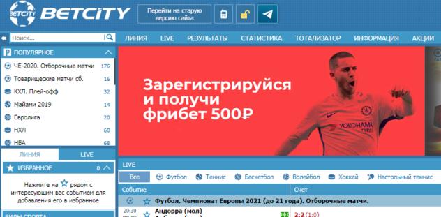 бетсити официальный сайт старая версия
