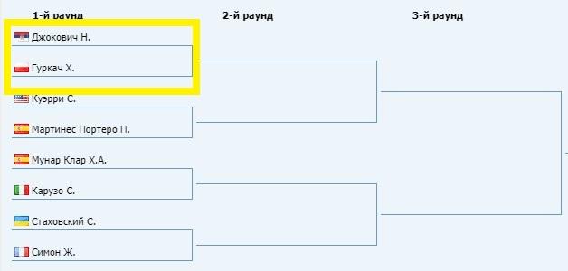 прогноз на 27.05.19. Джокович - Гуркач