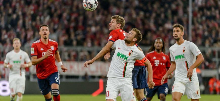 прогноз на 22.05.2021. «Бавария» - «Аугсбург»