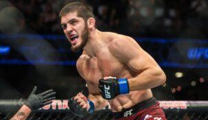 Ислам Махачев нелестно выразился в адрес бойцов из топ-10 рейтинга легкого веса UFC