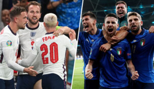 Клиенты «Фонбет» не смогли выбрать явного фаворита в финале Евро-2020 Англия – Италия