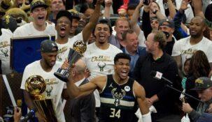 «Милуоки» стал чемпионом Национальной Баскетбольной Ассоциации