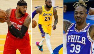 «Лос-Анджелес Лейкерс» стали самой возрастной командой в истории НБА