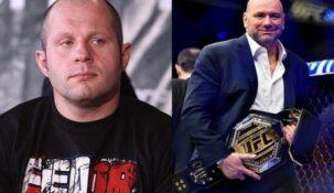 Федор Емельяненко назвал президента UFC Дану Уайта хамом