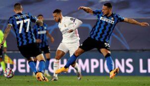 Больше половины клиентов «Фонбета» считают, что «Реал» обыграет «Интер» в игре ЛЧ
