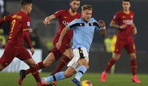 Пользователи «Фонбет» склоняются к тому, что в матче 6-го тура Серии А «Лацио» – «Рома» верх возьмут «волки»
