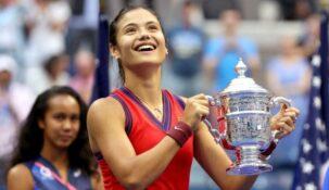 Эмма Радукану: призовые за победу на Открытом Чемпионате США я отдам родителям