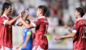 Беттеры Fonbet не сомневаются в том, что Россия переиграет Мальту в матче отбора к ЧМ-2022