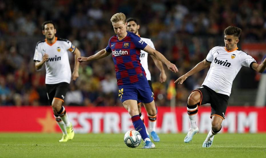 прогноз на 17.10.2021. «Барселона» - «Валенсия»